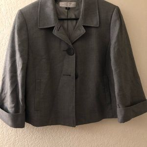 Gray woman's blazer